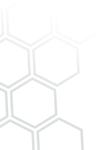 Hexagon pattern banner
